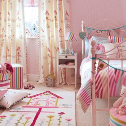 וילונות לחדרי ילדים לבנות